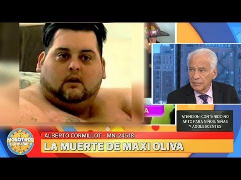El doctor Cormillot habló de la muerte de Maxi Oliva