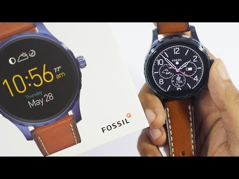 Fossil Q Marshal Smartwatch Unboxing & Overview