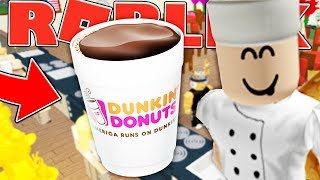 MAKING ROBUX AT MY COFFEE SHOP - ROBLOX RESTAURANT TYCOON SIMULATOR #2