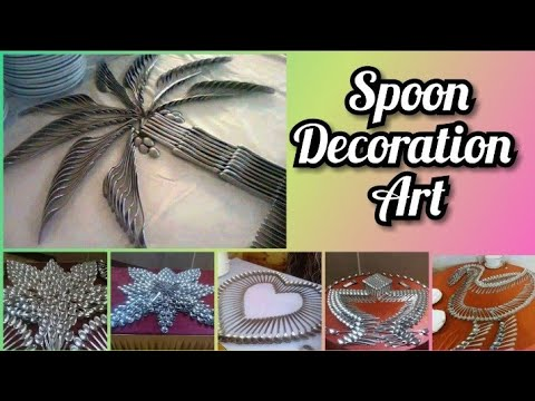 DIY spoon craft ideas || decorate your home with spoon |
