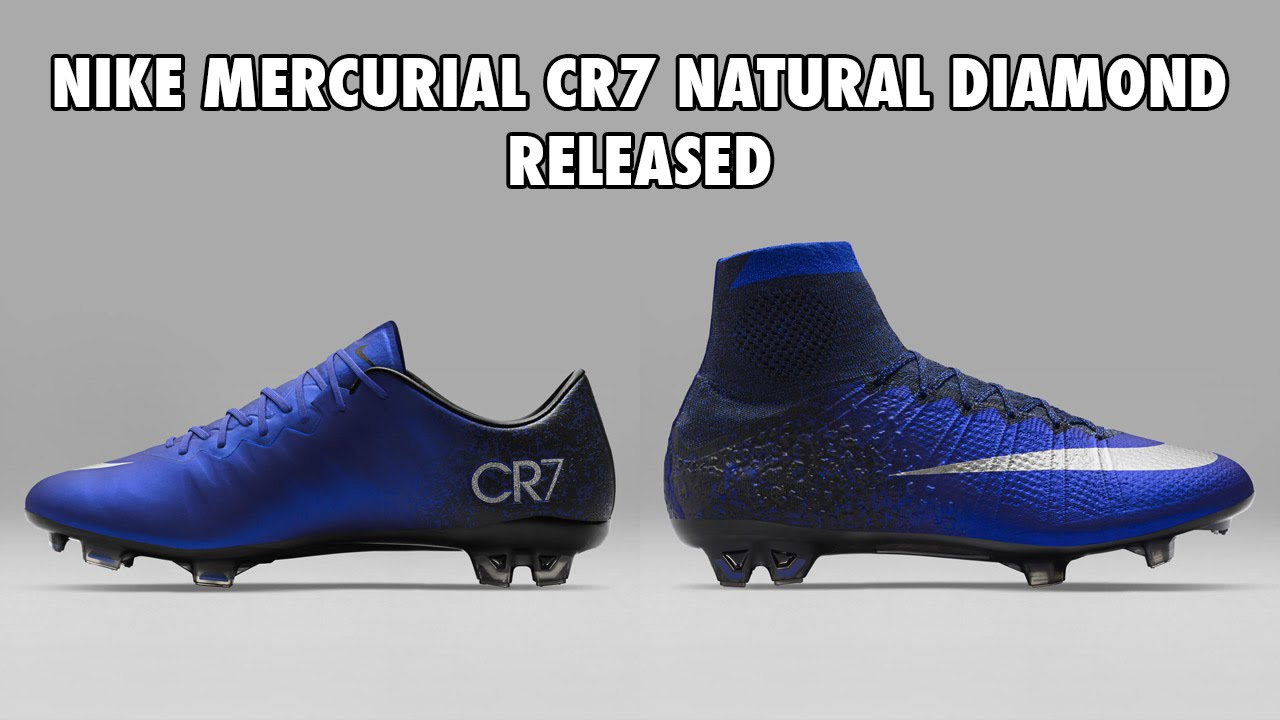 b41292a879 Nike Mercurial CR7 Natural Diamond Released, Closer Look - YouTube