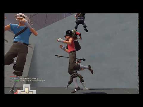Team Fortress 2 Dancing on UGC Gaming x10 Server