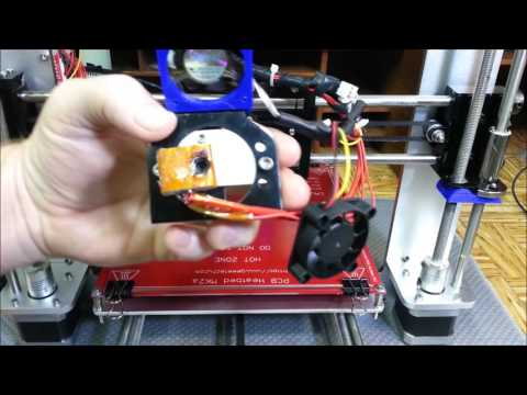 Changing The Nozzle Throat on the Geeetech Aluminum Prusa I3