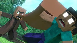 Download Top 5 Funny Minecraft Animations Created By MrFudgeMonkeyz Mp3 and Videos