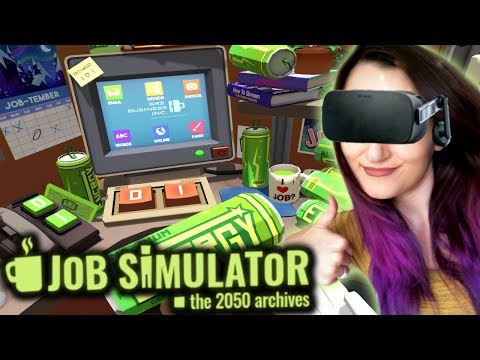 How To Be The GREATEST Office Worker EVER!! | Job Simulator VR #2