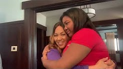 Erica Campbell Loving On Krista Campbell