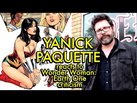 Yanick Paquette reacts to Wonder Woman - Earth One criticisms | COMIC BOOK SYNDICATE