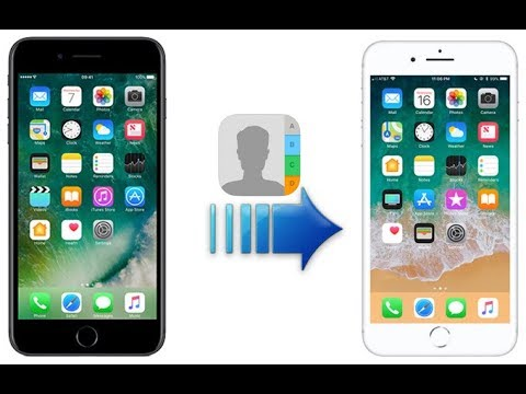 (3 Ways) How to Transfer Contacts from iPhone to iPhone 2018