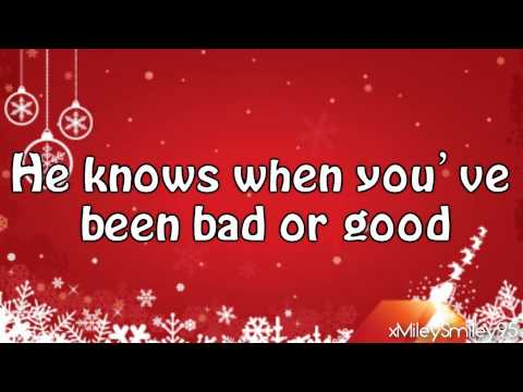 Rachel Crow - Santa Claus Is Comin' To Town (with lyrics)