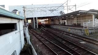 「去年のアベンジャーズラッピング車」名鉄3303F普通金山行き、知多半田駅発車