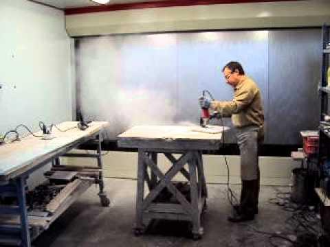Tecnicabina cabina de aspiraci n y filtrado de polvo para for Trabajos en marmol y granito