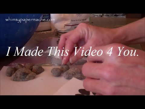 How 2 Make and Use Paper Mache Pulp