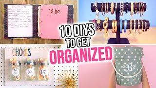 10 DIYs to Get ORGANIZED in the New Year! - HGTV Handmade
