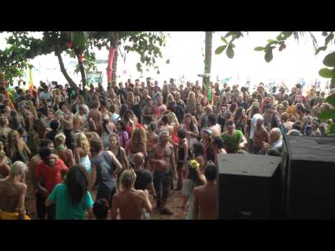 GOA, Anjuna beach Psychedelic trance party