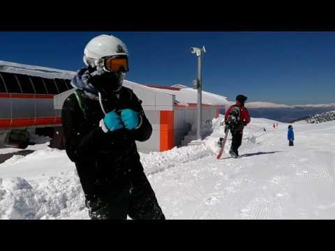 Davraz Kayak Merkezi - Zirve - Bol kar (18.03.2017)
