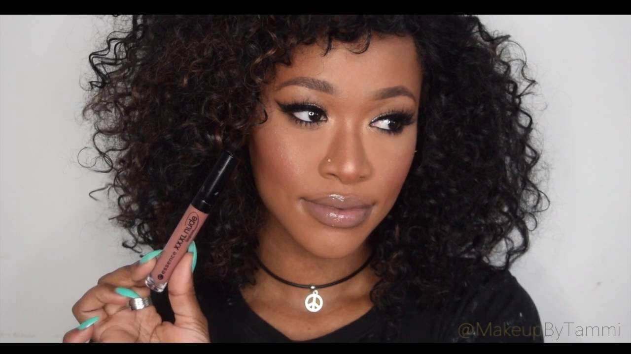TOP 10 NUDE LIPSTICKS FOR DARK SKIN Collab W/TheTemioTouch ...
