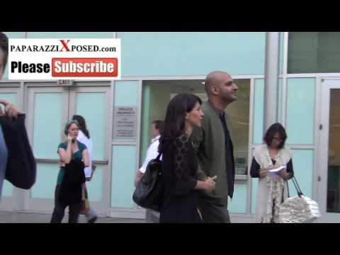 Dan Mazer and Daisy Donovan arrives to ArcLight Theatre in Hollywood