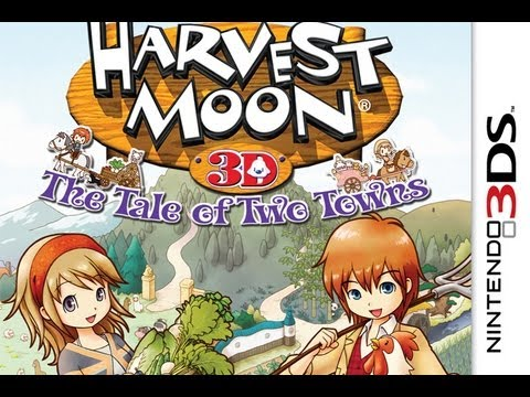 CGRundertow HARVEST MOON: THE TALE OF TWO TOWNS for Nintendo 3DS Video Game Review