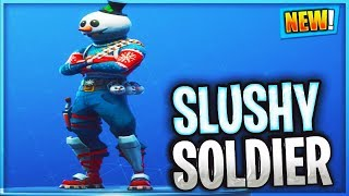 Unlocking NEW Slushy SOLDIER SKIN... Fortnite