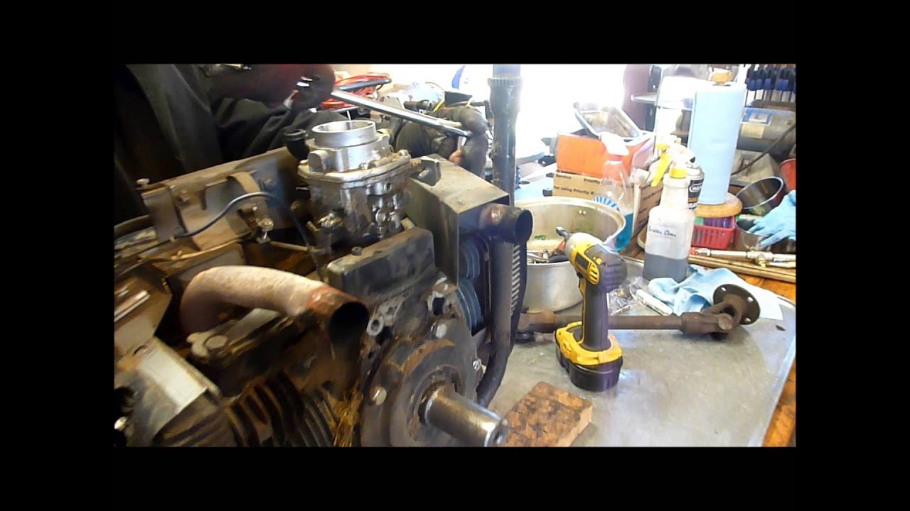 Rebuilding an Onan B43G (Part 1) External Tear Down on