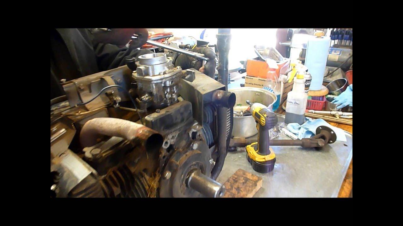 hight resolution of rebuilding an onan b43g part 1 external tear down