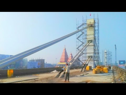 CHIRAIYATAND PATNA JUNCTION GPO MITHAPUR CABLE STAYED FLY OVER BRIDGE NEW EXTENSION CURRENT STATUS