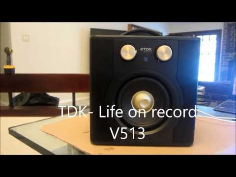 TDK LIFE ON RECORD WIRELESS SOUND CUBE V513