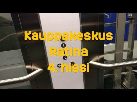 Hissivideo: Kauppakeskus Ratina,