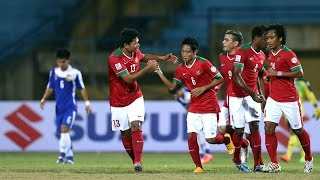 Indonesia vs Laos: AFF Suzuki Cup 2014 (FULL MATCH)