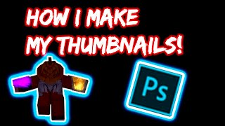 HOW I MAKE MY ROBLOX PARKOUR THUMBNAILS!