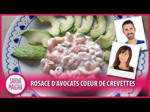 rosaces-d'avocat-coeur-de-crevettes---cuisine-facile