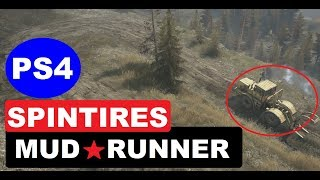 Spintires MudRunner - The Best ULTIMATE OffRoad Video Game | PS4