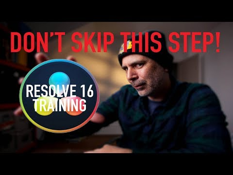 How to Archive DaVinci Resolve Projects Files and Databases Tutorial