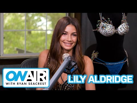 Lily Aldridge Shows Off $2M Victoria's Secret Fantasy Bra | On Air with Ryan Seacrest