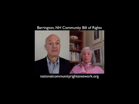 Enacting the Barrington, NH Community Bill of Rights