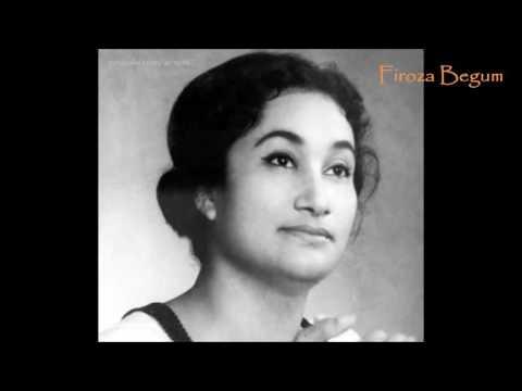 Mor ghumoghore ele manohar ♫ মোর ঘুমঘোরে এলে মনোহর ♫ Firoza Begum