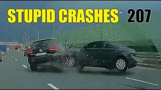 Stupid driving mistakes 207 May 2018 English subtitles