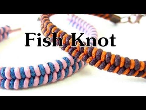 handmade diy fish knot bracelet youtube. Black Bedroom Furniture Sets. Home Design Ideas