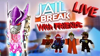 ROBLOX Jailbreak | ( January 26th ) Live Stream HD