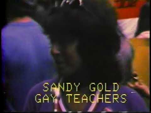 Emerald City TV 1978  Gay Parade Enid Gerling #2