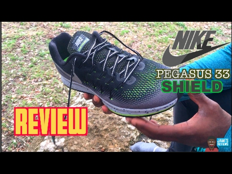 557675379c9a4 NIKE PEGASUS 33 REVIEW (SHIELD EDITION) - YouTube