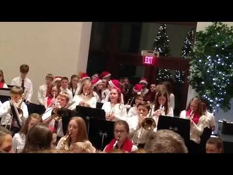 Michael West De Pere Middle School Jazz Band Holiday Concert 2019