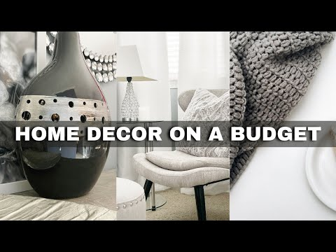 10 *BUDGET-FRIENDLY* Home Decor Tips + DIY decor ideas⎟FRUGAL LIVING TIPS⎟Home Decor on a Budget DIY