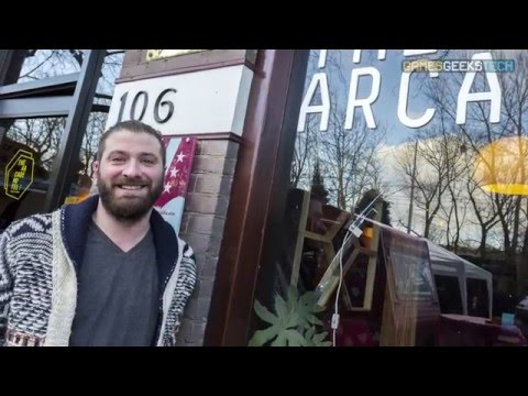 Games Geeks Tech: The Arcade Hotel (First gamer hotel!)