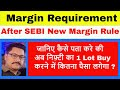 Margin Requirement in F&O after SEBI New Margin Rule  How to calculate?