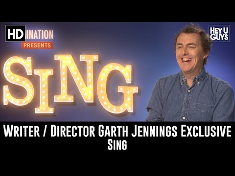 Director Garth Jennings Exclusive   Sing
