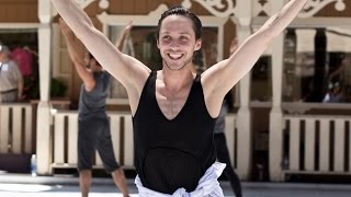 Johnny Weir, 'Good to Be Alive': Sun Valley Rehearsal Montage (with Richard Dwyer)