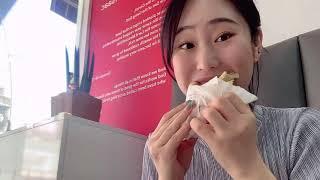 출근 전 롯데리아불고기버거+치즈스틱/이삭토스트 베이컨치…