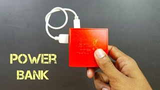How to Make a Simple Rechargeable PowerBank - HomeMade