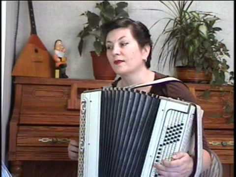 Clarinet Polka on accordion